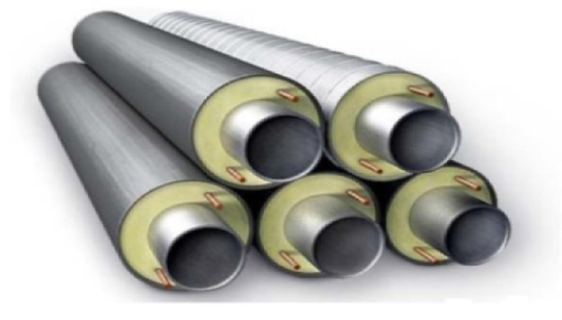 Polyurethane foam (PPU) for pipes according to the